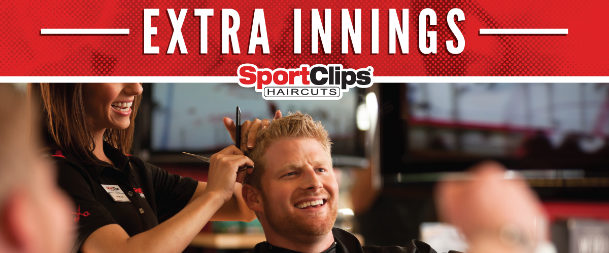 The Sport Clips Haircuts of Lindale Extra Innings Offerings