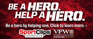 Sport Clips Lindale​ Help a Hero Campaign
